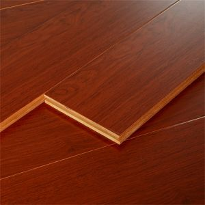 High Gloss Multi-Layer Solid Wood Flooring for Living Room