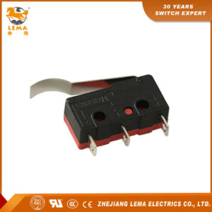 Lema 5A Black and Red Kw12-6 Micro Switch pictures & photos