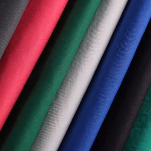 Woven Textile Spandex Polyester Twill Fabric for Shirt
