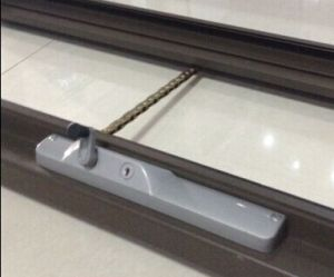 Aluminum Chain Winder Awning Window With Double Tempered Glass PNOC CWW006