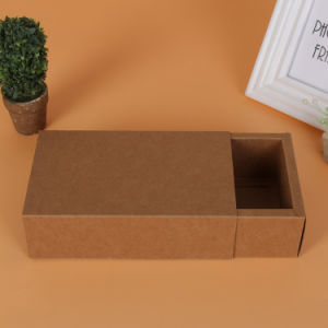 China Small Sliding Paper Cardboard Drawer Gift Packaging Storage