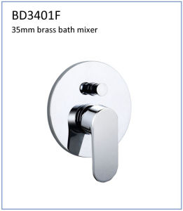 Bd3401f 35mm Brass Single Lever Conceal Mount Bath Faucet
