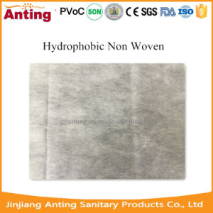 SMMS Hydrophobic Non Woven Fabric Roll Raw Material for Baby Diaper pictures & photos