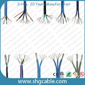 Combo Coaxial Cable and LAN Cable 2RG6+2cat5 pictures & photos