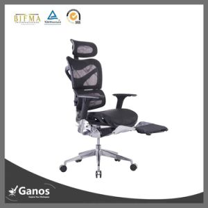 Mesh Office Chair With Footrest