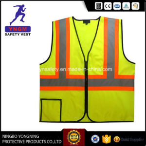 100% Polyester Mesh PVC Reflective Safety Vest pictures & photos