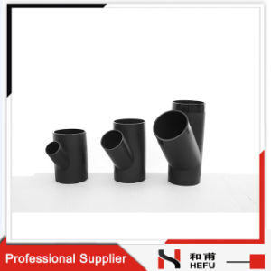 Customized HDPE Plastic Pipe Types Welding Tee Joint pictures & photos