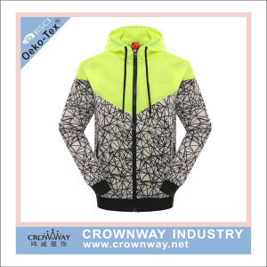 Men Outdoor Windbreaker Waterproof Jacket with Subliamtion Printing pictures & photos