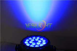 DMX512 LED PAR Lamp UV+RGBWA 6in1 LED Black Light with Factory Cost
