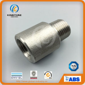 ASME B16.11 Stainless Steel Coupling Female X Male Coupling Forged Fittings (KT0574) pictures & photos