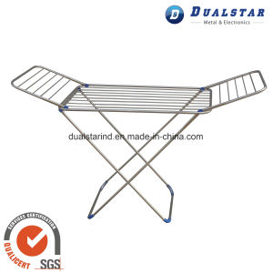 Portable Folding Metal Material Garment Rack