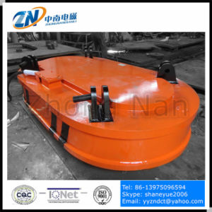 Crane Installation Truck Unloading Magnet with 6000 Kg Lifting Capacity for Casting Ingot MW61-350220L/1-75 pictures & photos