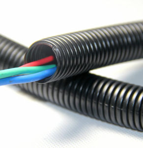 Plastic Flexible UV Resistant Cable Conduit with Flame Retardant pictures & photos