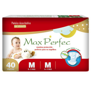 Soft and Breathable Baby Diapers (M)