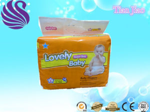Super Care Soft Disposable Baby Diaper with PE Tape pictures & photos
