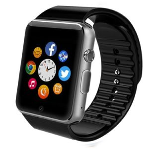 Bluetooth Smartwatch 2.5D Arc HD Screen Support SIM Card Wearable Devices Smartphone Fitness Tracker for Ios Android pictures & photos