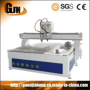2D & 3D, Multi-Workstage, with Rotary, 1325 Mutil Function Wooden Carving CNC Router pictures & photos