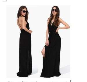 Best Price High Quality European Style Fashion Cotton Maxi Dress pictures & photos