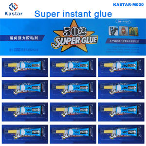 Kastar Strong Adhesion Super Glue Cyanoacrylate Adhesive Instant Glue pictures & photos