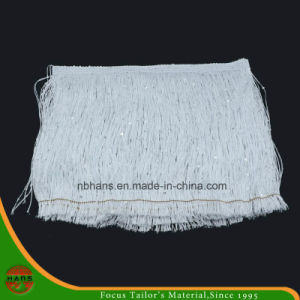 18cm White Color Tassel Fringe Lace (HACF151800001) pictures & photos