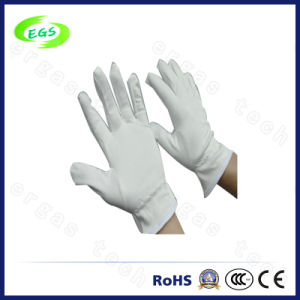 Microfiber Non Dust Gloves, ESD Antistatic Working Gloves (EGS-26) pictures & photos