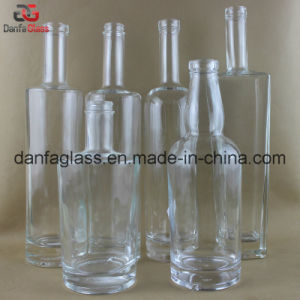Extra Flint Glass Rum Bottles (Multiple Label Decoration Doable)