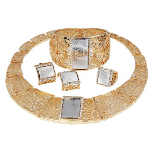 China African Gold Plating Jewelry Set Dubai Gold Plated Jewelry