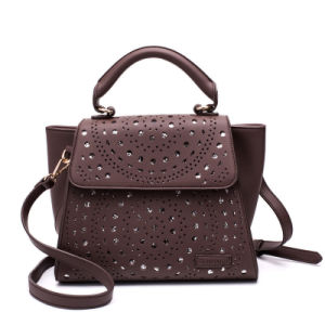 China Fashion Hollow out PU Leather Designer Women Bags Handbags ... 46997bc7db08b