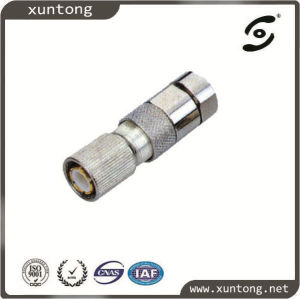 Compression Rg59 RG6 L9 Connector for CCTV CATV pictures & photos