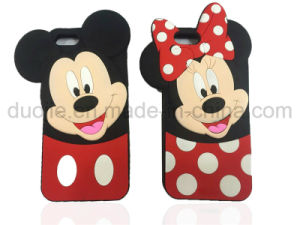 DOT Mickey Minnie Silicone Phone Case for Samsung Galaxy J7prime J5prime Case (XSD-002)