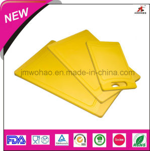 Colorful Plastic Chopping Board (FH-KTC08)