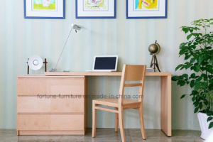 Modern Wooden Veneer Laminated Stretchable Office Desk (N703A-ST)