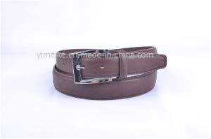 2016 Yiwu Alloy Pin Buckle Wholesale Cheap Men′s PU Belt pictures & photos