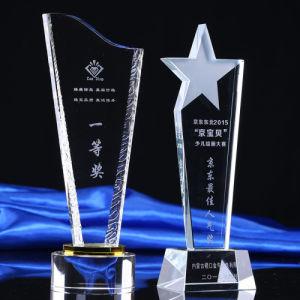 2017 New Design Europe Regional Feature 3D Laser Crystal Trophy Award