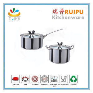 Excellent Houseware India Stainless Steel Cooking Hot Pots Rg3 X201