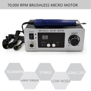 70, 000rpm Brushless Dental Micromotor Polishing Unit with Lab Handpiece pictures & photos