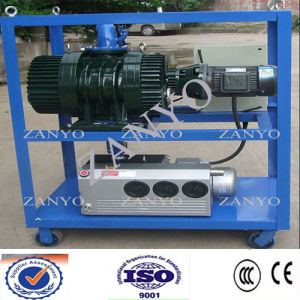 Mobile Double-Stage Vacuum Pump System