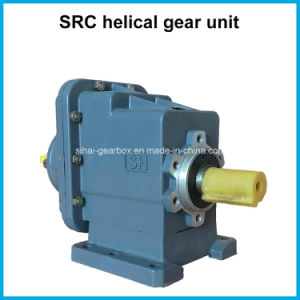 Src Two-Staged Speed Reduction Helical Gearbox Reducer