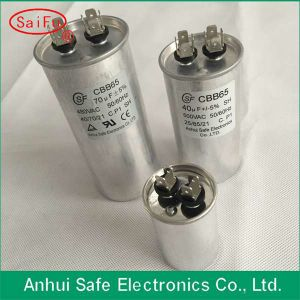 AC Motor Start Capacitor 160UF Air Conditioner Run Capacitor Dual Va Cbb65 25UF 550V AC Dual Capacitor pictures & photos