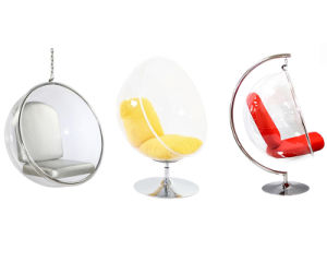 Hanging Standing Clear Bubble Ball Chair
