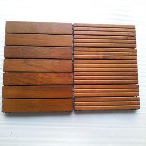 Hot Selling Popular Teak Outdoor Decking Tile