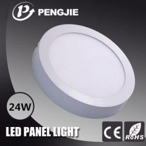 24W LED Ceiling Panel Light for Indoor with SMD2835 (Round) pictures & photos