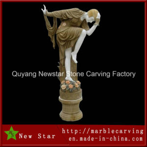 Elegant Hand Made Life Size Stone Garden Statue pictures & photos