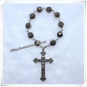 Glass Beads Finger Rosary Ring, Plastic Finger Rosary, Foam Finger (IO-CE073) pictures & photos