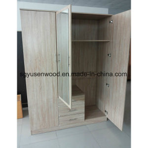 Bedroom Furniture Melamine Chipboard/Particle Board Wardrobe Closet