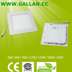 Wholesale Square Type 9W Energy Saving Light Panel (GHD-PS-9W) pictures & photos