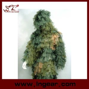 Camouflage Clothing Ghillie Suit Leaf Ghillie Suit for Wargame Use pictures & photos