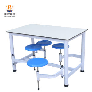 China School Furniture 4 Person Compote Panel Canteen Dining Table China Dining Table School Furniture
