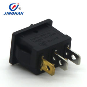 Jiinghan 12V LED Illuminated DOT Micro Rocker Switch T85