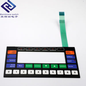 Electric Remote Access Control Numeric Membrane Switch Keypad